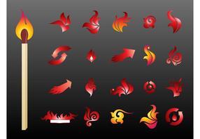 Logos d'incendie