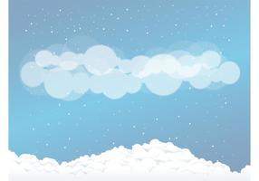 Nubes de nieve