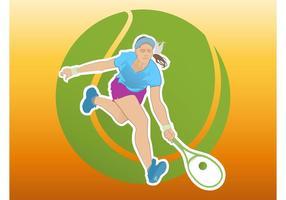 Tennis tjej