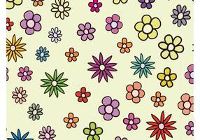 Frisches Blumenmuster