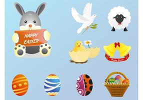 Easter-vectors