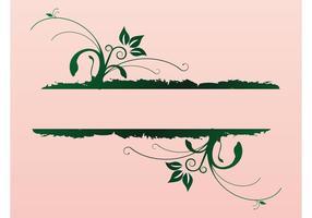 Elegant natur banner