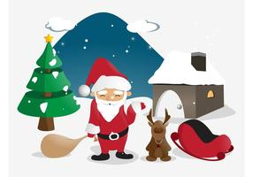 Santa Illustratie