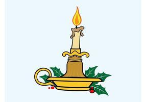 Julstearinljus