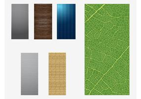 Vectores de las texturas