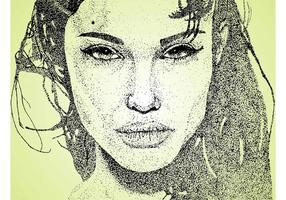 Angelina jolie art
