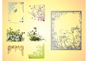 Vector Floral Frames, Borders & Corners - Download Free ...