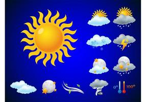 Weather Icons Vectors