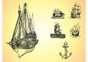 Esboços marinhos