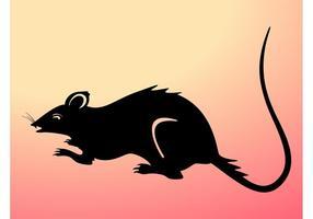 Silhouette de rat