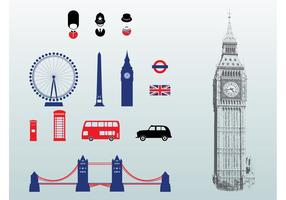London-Vektoren