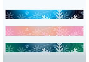 Snowflake Banners