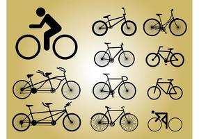 Bicicleta de ícones