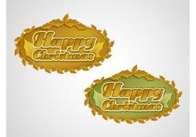 Gelukkige Kerstmis Vector