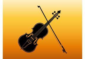 Violinsilhouette