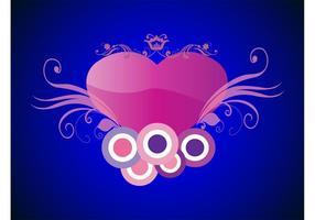 Stiliserat hjärta
