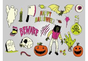 Illustrations de Halloween