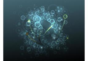 Luzes e círculos