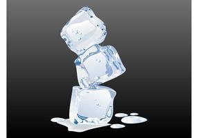 Schmelzendes Eis