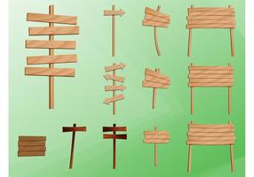 Wooden Post Signs