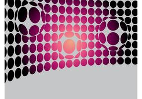 Warped Dots Vector