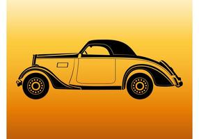 Vintage Car Outlines