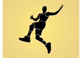 Jumping Man Vector