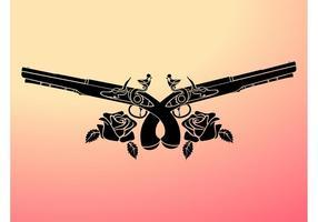 Armas e rosas