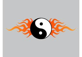 Yin Yang Flames