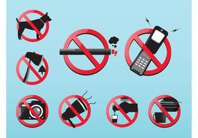 Icônes de la prohibition