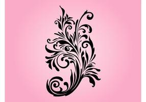 Swirls floraux