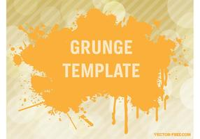 Grunge Vector Template