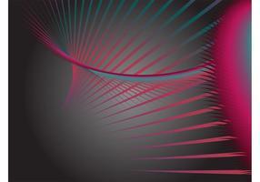 Färgglada överlappande linjer