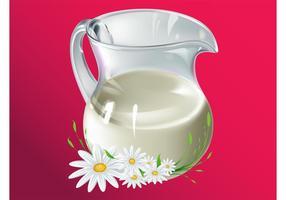 Milch Vektor