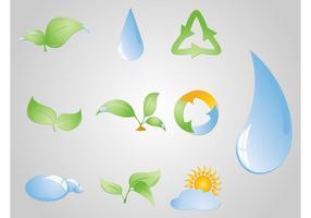 Vetores gratuitos de ecologia