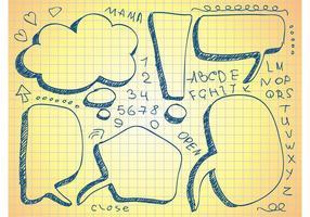 Notitieboekjes doodles