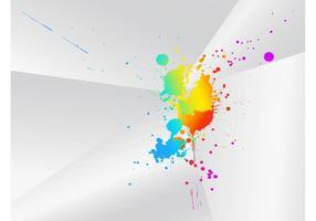 Salpicadura artística del color