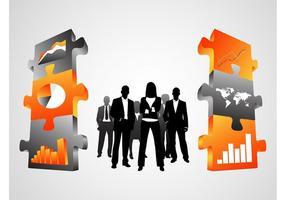 Vecteurs de sociétés commerciales