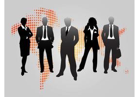 Graphisme de gens d'affaires