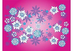 Blumenmuster Dekorationen