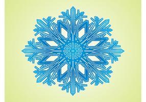 Copo de nieve geométrico