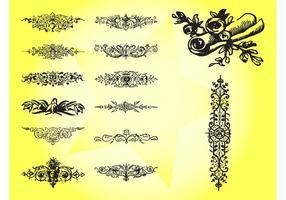 Antique Decorative Swirls