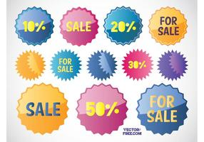 Free Sales Stickers
