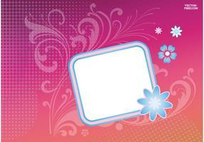 Flower Badge Sticker