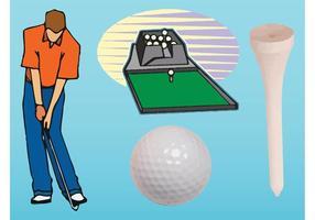 Vecteurs de golf