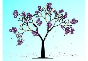 Blommande vårträd