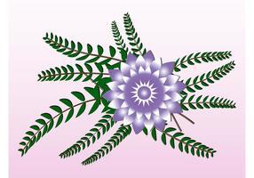 Dekorative Blume