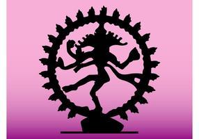 Silueta de Shiva
