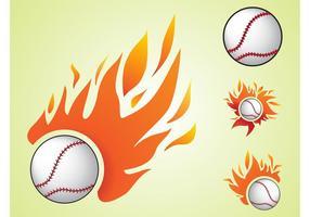 Burning Baseball