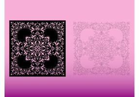 Blommönster mönster